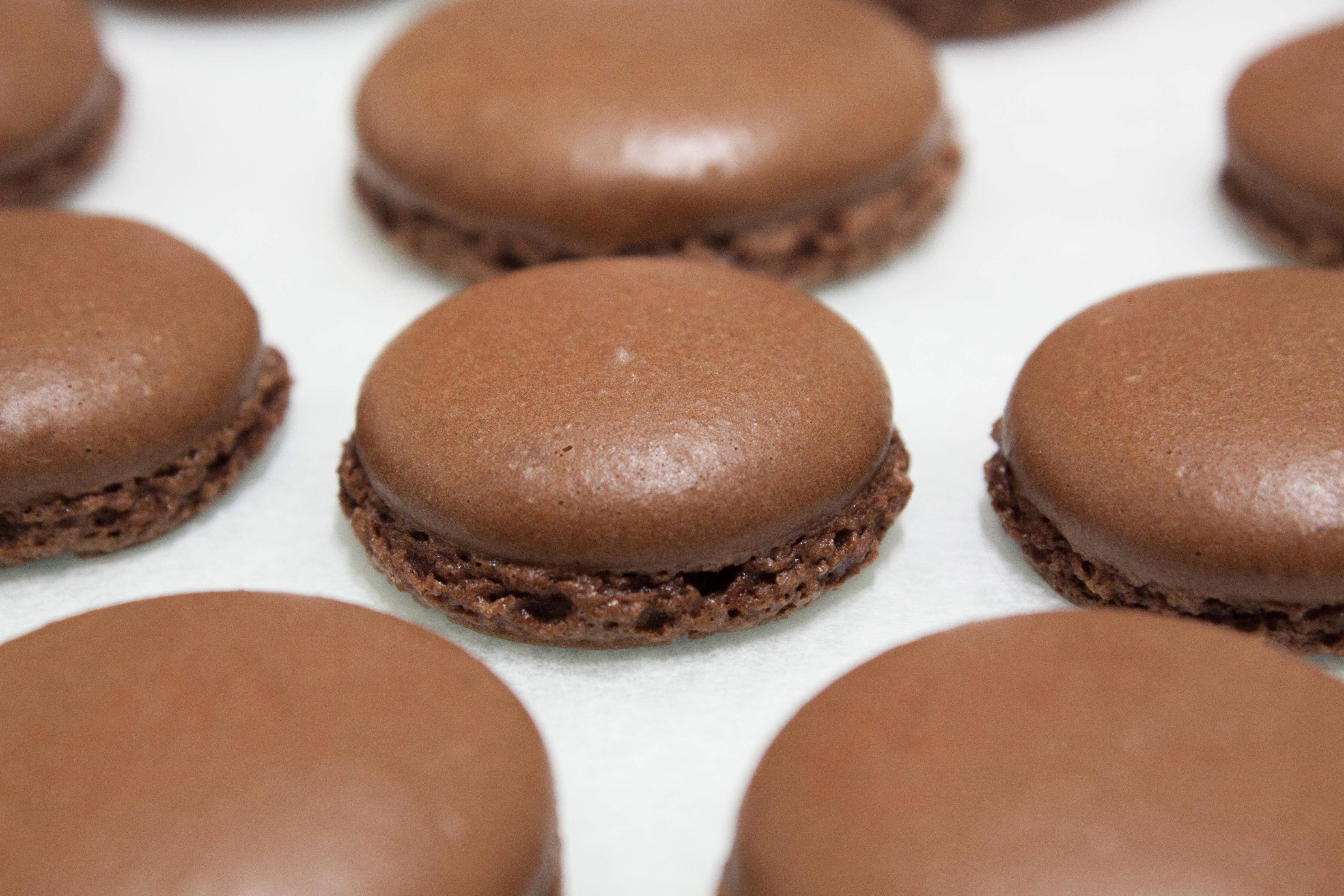 Chocolate Macarons – Rae and Ben in Seoul
