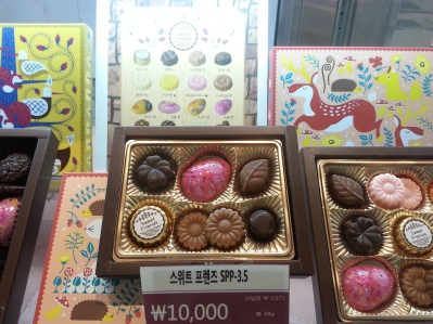 Cute chocolates